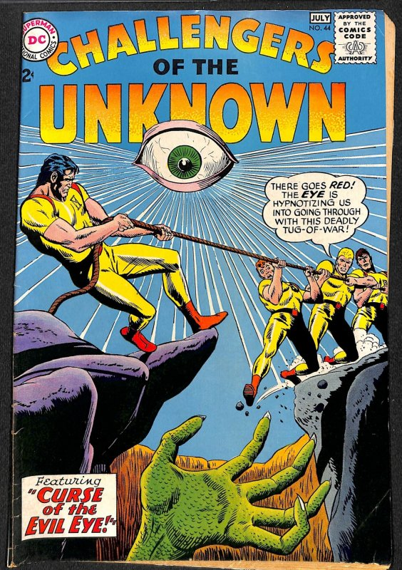 Challengers of the Unknown #44 (1965)