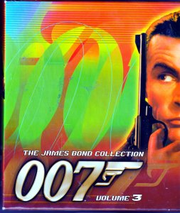 James Bond VHS Box Set  6 James Bond Classics on VHS collected in one box set !
