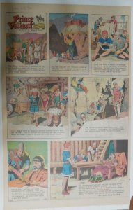 Prince Valiant Sunday #1720 by Hal Foster from 1/25/1970 Rare Full Page Size !