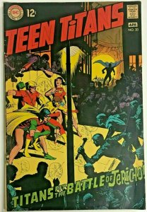 TEEN TITANS#20 VG 1969 DC SILVER  AGE COMICS