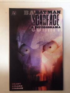 Batman Scarface A Psychodrama Near Mint Grant Adlard Goleash