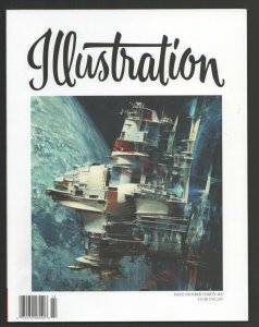 Illustration #36 Winter 2012-Illustrated Press-Rose O'Neil-John Berkley-Sci-f...