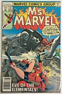MS. MARVEL#11 FN/VF 1978 BRONZE AGE COMICS