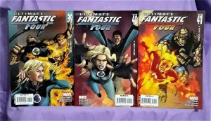 Mike Carey ULTIMATE FANTASTIC FOUR #39 - 41 Mark Brooks (Marvel, 2007)!