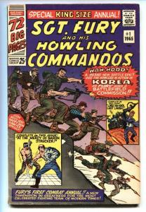 SGT. FURY and his Howling Commandos Annual #1 1965 KOREA WAR issue