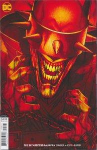 The Batman Who Laughs #6 Variant Cover DC Comics 2019 NM