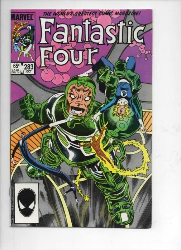 FANTASTIC FOUR #283 NM Torment, Byrne 1961 1985 Marvel, more FF in store