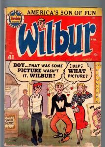 WILBUR COMICS #41-KATY KEEN PIN-UP-PIN UP POSES-1952-G minus G-