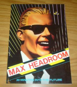 Max Headroom: 20 Minutes Into The Future SC FN- picture book of the film 1986