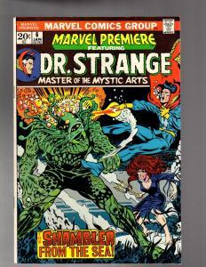 MARVEL PREMIERE 6 FINE PLUS 1/1973 Dr. Strange! COMICS BOOK