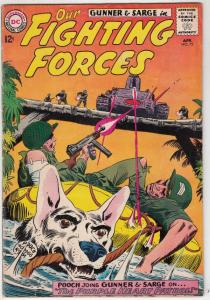 Our Fighting Forces #75 (Apr-63) FN+ Mid-High-Grade Gunner
