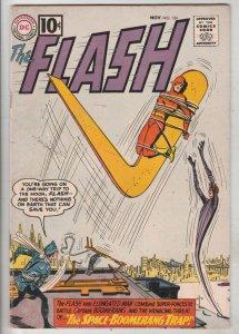 Flash, The #124 (Nov-61) FN/VF Mid-High-Grade Flash