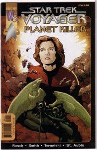 Star Trek: Voyager -- Planet Killer #1-3, Avalon Rising, Elite Force+ (set of 6)