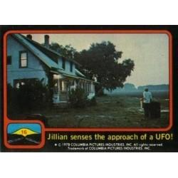 1978 Topps Close Encounters Of The Third Kind JILLIAN SENSES THE APPROACH OF UFO