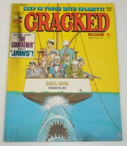 Cracked #131 VG; Globe   low grade comic - save on shipping - details inside