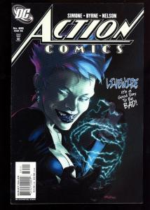 ACTION COMICS #835-FIRST DC CONT. LIVEWIRE-KEY ISSUE-2006