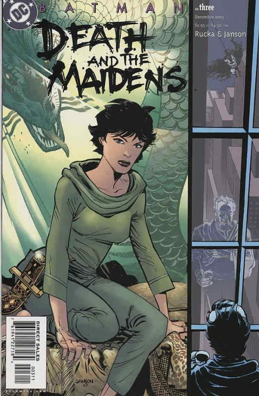 Batman: Death and the Maidens #3 VF/NM; DC | save on shipping - details inside