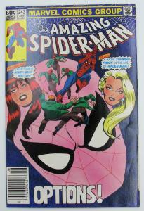 The Amazing Spider-Man #243 August 1983