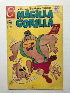 Charlton Comics MAGILLA GORILLA #3GOOD (A274M)