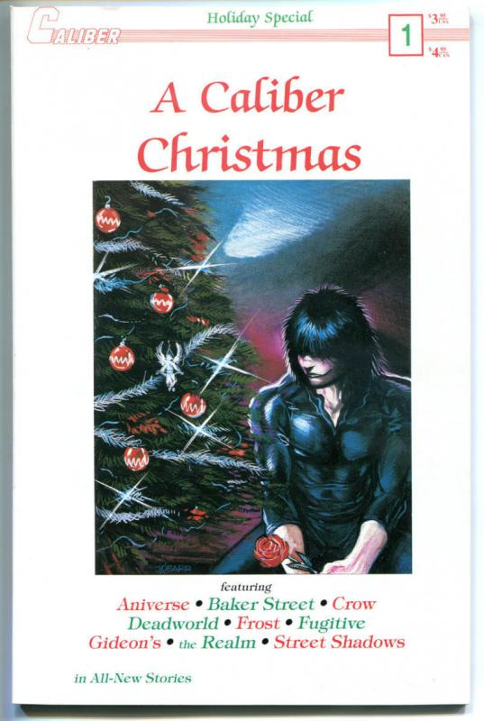 CALIBER CHRISTMAS #1, NM-, Crow, James O'Barr, Jim, 1989, DeadWorld, Horror