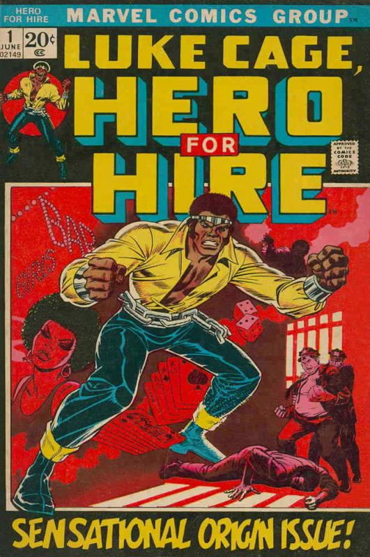 Hero for Hire #1 VG; Marvel | low grade comic - save on shipping - details insid