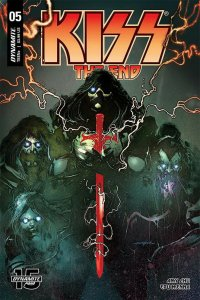 KISS END (2019 DYNAMITE) #5 All 7 Covers PRESALE-09/11