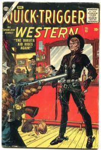 Quick-Trigger Western #15 1956-Atlas- Maneely- Crandall VG