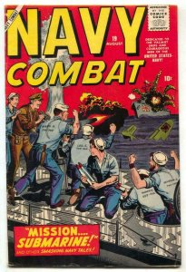 Navy Combat #19 1958-Marvel artists tribute cover FN