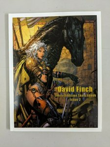 David Finch Limited Edition Sketchbook Issue 2 RARE