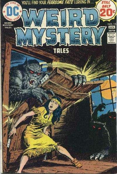 Weird Mystery Tales #15, Good (Stock photo)