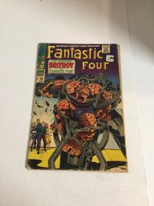 Fantastic Four 68 Gd Good 2.0 Marvel Comics Silver Age