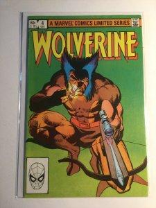 Wolverine 4 very fine vf 8.0 Marvel