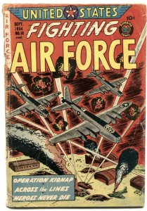 United States Fighting Air Force #10 1954- dirigible G
