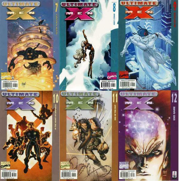 ULTIMATE X MEN (2001-2009) 7-12  Return Of Weapon X