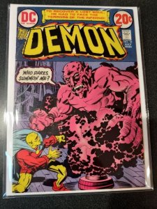 ​THE DEMON #10 JACK KIRBY