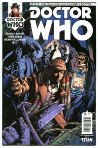 DOCTOR WHO #5 A, NM, 4th, Tardis, 2016, Titan, 1st, more DW in store, Sci-fi