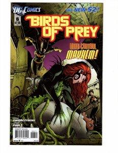 Birds Of Prey #6 (9.0-9.2) ID#MBX3
