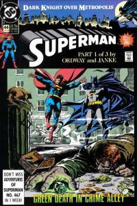 Superman (1987 series) #44, NM- (Stock photo)