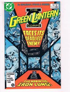 Green Lantern #204 VF DC Comics Modern Age Comic Book John Stewart DE21