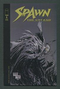 Spawn Undead #6 / 9.6 NM+  -  9.8 NM-MT  November 1999