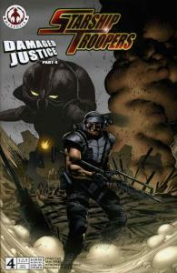 Starship Troopers: Damaged Justice #4B FN; Markosia | save on shipping - details