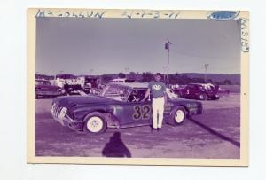 McCollun-Racing Photo-Stock Car-1962-Ford-#32-1970's-VG