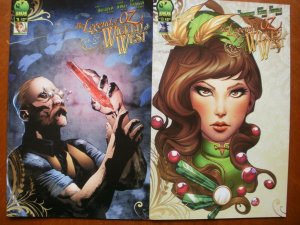 2 Big Dog Ink (BDI) Comic: THE LEGEND OF OZ THE WICKED WEST #9 #10 (Frank Baum)
