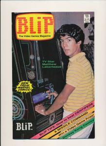 Marvel Comics BLIP Video Games Magazine #1 Laborteaux Cvr ~ F/VF 1983 (PF193)