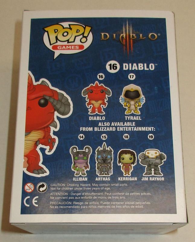 FUNKO POP VINYL #16 Rosso DIABLO Figura Serie GIOCHI