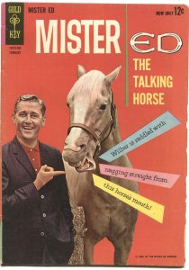 MISTER ED #2-1963-TALKING HORSE TV SERIES ISSUE-ALAN YOUNG PHOTO COVER-GOLD KEY