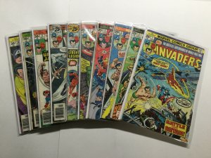 Invaders 1-41 Giant Size 1 King Size 1 Annual 1-4 Very Good-Fine 5.0 Marvel