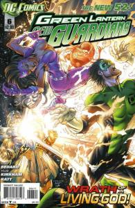 Green Lantern: New Guardians #6 VF/NM; DC | save on shipping - details inside
