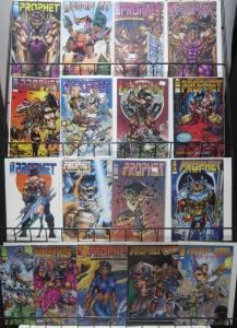 PROPHET COLLECTION! 16 ISSUES! Rob Liefeld at his best! Stephen Platt, too!