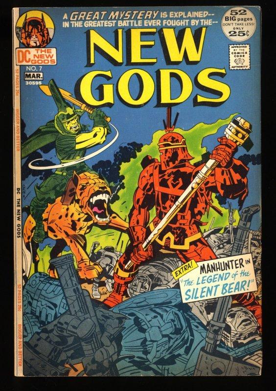 New Gods #7 VG+ 4.5 1st Steppenwolf!